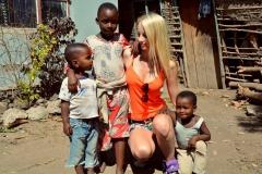 Ivanna velmi ráda cestuje. Austrálii miluje, ale bavilo ji to také v Africe.